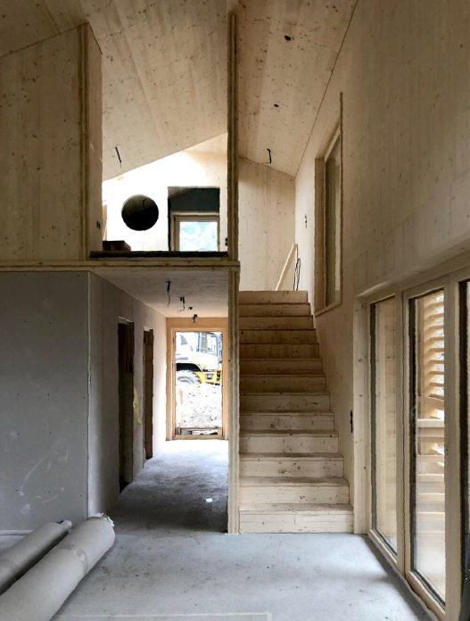 Selbstversorgerhäuser Motta Rohbau OEOOO Architektur