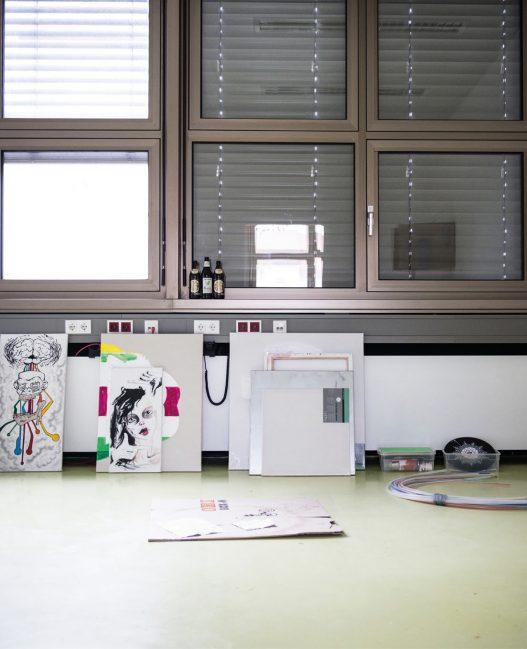 Werkstadt Meidling Atelier Gemälde Stadtentwicklung OEOOO Architektur