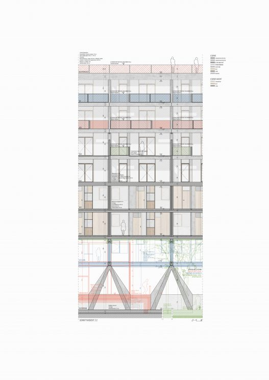 OEOOO WBPTYP ANSICHT Architecture Drawing